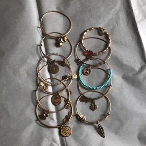 Alex and Ani Assorted Bracelets! 11 in all!